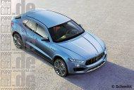 Maserati Levante SUV - Rendering