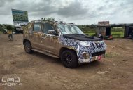 Spied - IAB reader snaps the 2016 Mahindra Bolero's front ...