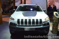 Jeep Renegade Trailhawk and Cherokee Trailhawk, Wrangler Sahara - 2015 Frankfurt Motor Show Live
