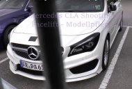 2016 Mercedes CLA (facelift) spied; premieres at GIMS 2016 - Report