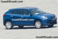 2016 Suzuki Baleno (Maruti YRA) spotted in the wild ahead of Frankfurt debut - Spied