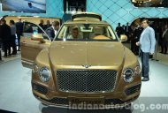Bentley Bentayga - 2015 Frankfurt Motor Show Live