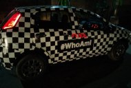 Fiat Abarth Punto teased with new camouflage - Spied