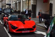 DC Avanti spotted in London with Indian plates - Video