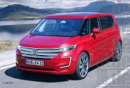 VW E-Bulli concept's production version - Rendering