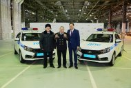 Lada Vesta sedan enters Russian police fleet - IAB Report