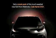 Mahindra S101 (Mahindra KUV100) teaser image revealed - IAB Report