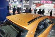 Ford Figo with roof rails and Ford Figo Aspire - Auto Expo 2016