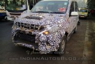Mahindra Quanto facelift (Mahindra Canto) shows its new headlight design - Spied