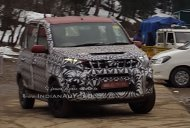 IAB reader sees the Mahindra Quanto facelift (Mahindra Canto) with less covers - Spied