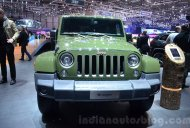 Jeep 75th Anniversary editions, Jeep Cherokee Overland - Geneva Motor Show Live