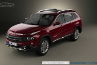 Fiat C-SUV (Toyota Fortuner-rival) - Rendering
