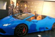 Lamborghini Huracan Spyder launched in India at INR 3.89 crore