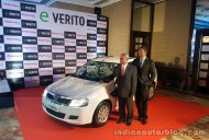 Mahindra e-Verito launched at INR 9.50 Lakhs
