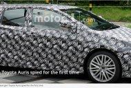 Next-gen Toyota Auris starts testing