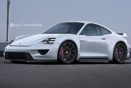 Next-gen Porsche 911 with MissonE styling cues - Rendering