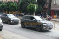 Jeep 551 (Jeep C-SUV) spied testing in China