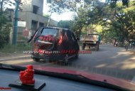 Mahindra e2o 4-door spotted testing in Bangalore