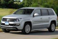 VW Amarok-based 7-seat SUV - Rendering