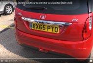 Tata Bolt EV prototype showcased in UK - Video