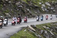 Himalayan Highs - 11 women on the TVS Scooty Zest 110 create history*