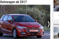 2017 SEAT Ibiza camouflaged to look like the Hyundai i20