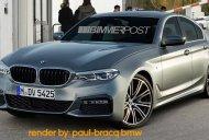 2018 BMW 3 Series looks like a mini 5 Series - Rendering