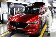 New Mazda CX-5 enters production in Japan