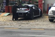 2018 Hyundai Veloster's posterior exposed in new spy photo