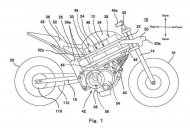 Kawasaki electric motorcycle patent images leaked - Report