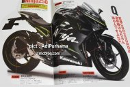 2017 Kawasaki Ninja 250 rendered with USD forks