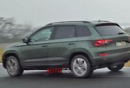 2017 Skoda Yeti spied undisguised, exterior revealed