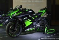 2017 Kawasaki Ninja 300 & 2017 Kawasaki Ninja 650 launched in India