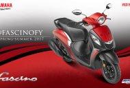 2017 Yamaha Fascino BSIV gets dual tone colours