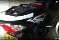 Honda Dio modified to have a music system