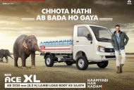 Tata Ace XL (extended Tata Ace) brochure leaked