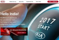 Kia launches Indian website, announces dealer roadshow