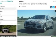2018 Audi Q3 spied on test up close