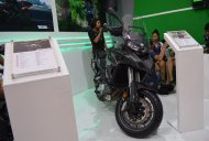 Benelli TRK 502 showcased at the Nepal Auto Show 2017