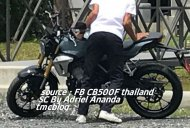 Production Honda 150SS Racer spied in Indonesia