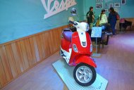 Vespa VXL 150 showcased at the Nepal Auto Show 2017