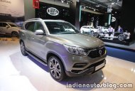 2017 SsangYong Rexton showcased at IAA 2017 - Live