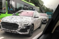Audi Q8 Spotted up close in China