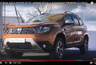 2018 Dacia Duster snapped at an outdoor event post IAA 2017 premiere