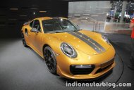 2018 Porsche 911 Turbo S Exclusive Series at the IAA 2017 - Live