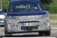 2018 Suzuki Vitara (facelift) spotted on test in Europe