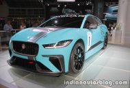 Jaguar i-Pace Electric Concept & Jaguar i-Pace eTrophy at the IAA 2017 - Live