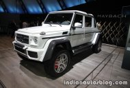 Mercedes-Maybach G 650 Landaulet showcased at IAA 2017 - Live