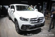 Mercedes X-Class Accessorised at the IAA 2017 - Live