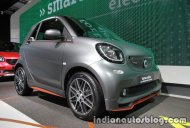 Smart Fortwo Brabus edition asphaltgold showcased at the IAA 2017 - Live